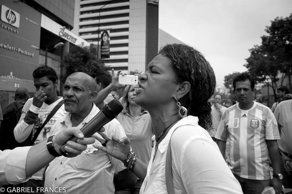 Reportaje fotográfico: Protestas Venezuela.