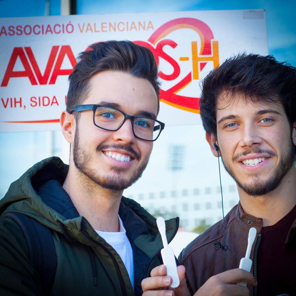 Campaña semana europea de la prueba de VIH y Hepatitis C
